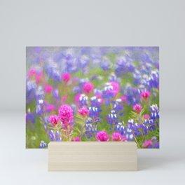 Wildflower bloom Mini Art Print