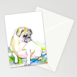Pug Dreams Stationery Cards
