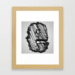 Letter Series: E Framed Art Print