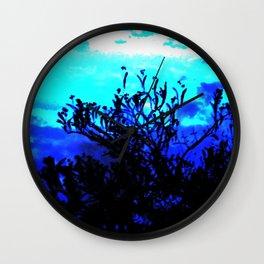 Linden Twilight Wall Clock