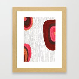 Wooden One Framed Art Print