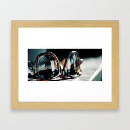 RAY BAN PRINT Framed Art Print