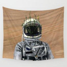 Cacti   Spaceman No:1 Wall Tapestry