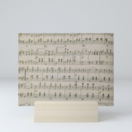 The Blue Danube Waltz Mini Art Print