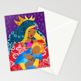 Virgin Mary and Child Stationery Cards