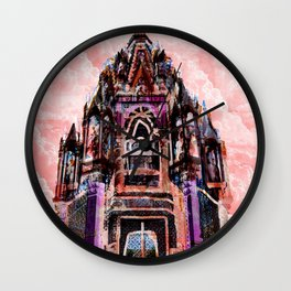 Castle in the Clouds Wall Clock