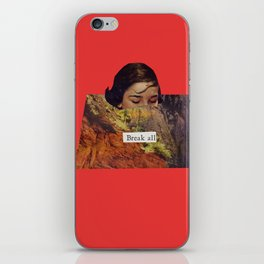 Break All iPhone Skin