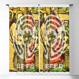 Be Fed Spiritually (Religious Art) Blackout Curtain