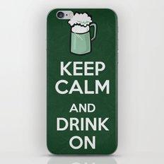 Keep Calm - Saint Patrick's Day Poster 01 iPhone & iPod Skin
