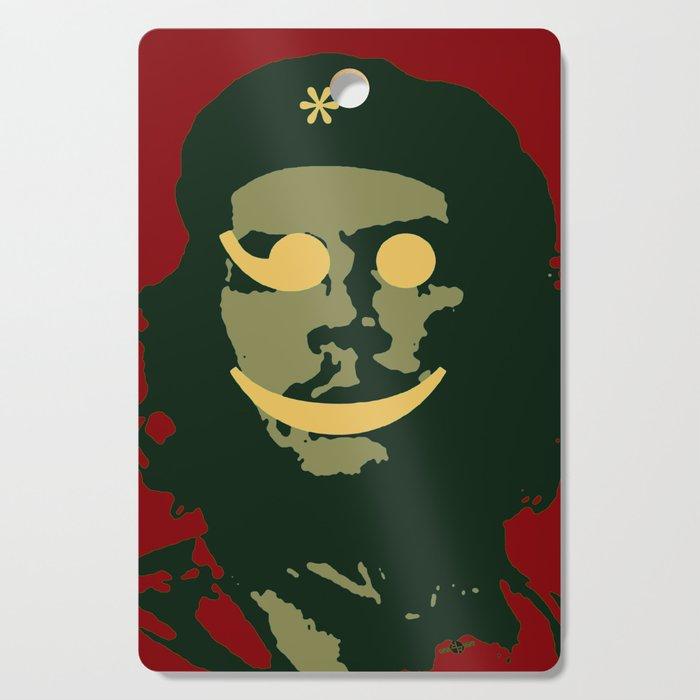 Che Emoticomunist Emoji Pop Art Protest Cutting Board