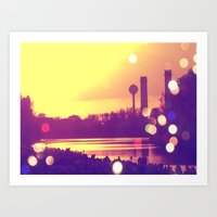 Florida Power and Light Art Print