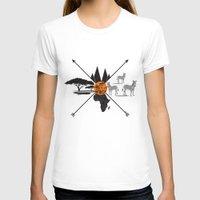 africa T-shirts featuring Africa by famenxt