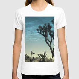 Joshua tree park blue T-shirt