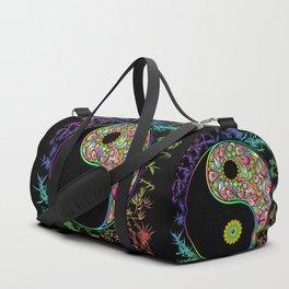 Yin Yang Bamboo Psychedelic Duffle Bag