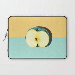 Tropical Fruit. Apple Half Slice Laptop Sleeve