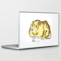 leopard Laptop & iPad Skins featuring Leopard by Diana Hope