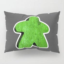 Giant Green Meeple Pillow Sham