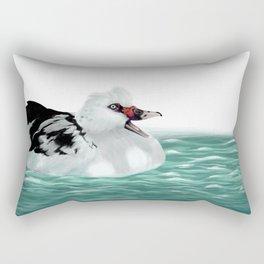 Happy Duck Rectangular Pillow