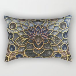 A Looking Glass Into Existence Rectangular Pillow