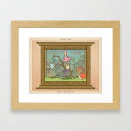 Bird Trophies Framed Art Print