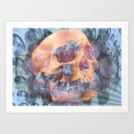 Death of a Galaxy Art Print