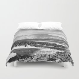 The Sierra Nevada: John Muir Wilderness, Sequoia National Park - California Duvet Cover