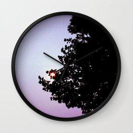 Peripheral Vision Wall Clock