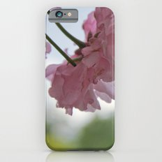 Pink Flowers Slim Case iPhone 6s