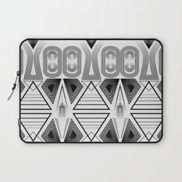 "Art Deco. ""Black and light gray"" 28 . Laptop Sleeve"