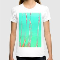 grass T-shirts featuring Grass by Anne Millbrooke
