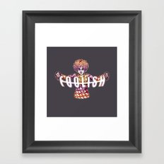 Jester Framed Art Print