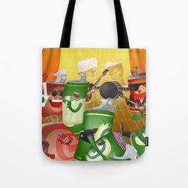 Rock & cheers Tote Bag