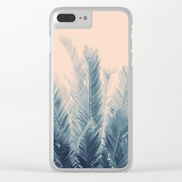 Tropical Leaves Dream #4 #tropical #decor #art #society6 Clear iPhone Case