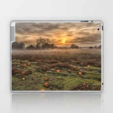 Pumpkins At Dusk Laptop & iPad Skin