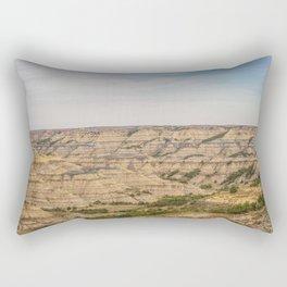 Badlands, Theodore Roosevelt NP, ND 26 Rectangular Pillow