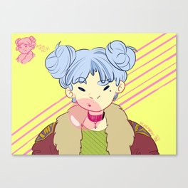 BAMF Young Girl Canvas Print