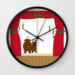 Reindeer  Wall Clock