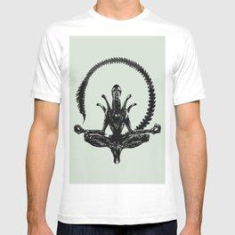 Meditation Alien T-shirt