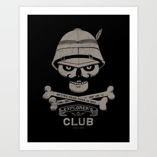 Explorer's Club Art Print