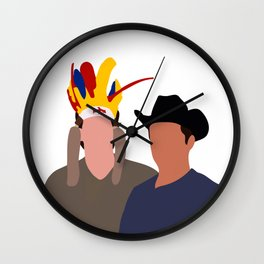Ross and Joey tv show Wall Clock