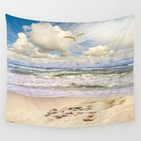 paradise Wall Tapestries featuring Paradise by RasaOm
