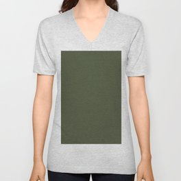Chive - Pantone Fashion Color Trend Spring/Summer 2020 NYFW Unisex V-Neck