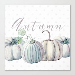 Pastel Autumn Canvas Print