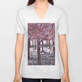 :: Girl Trees :: Unisex V-Neck