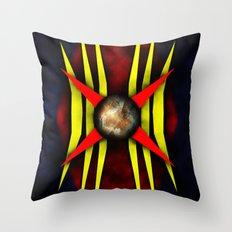 Tribal art Throw Pillow