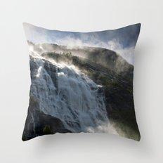 Just make it White Throw Pillow