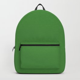 May Green - solid color Backpack