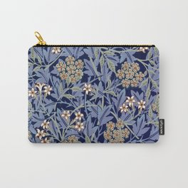 Blue Lillies Design Carry-All Pouch