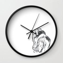 Gentle Hug Wall Clock