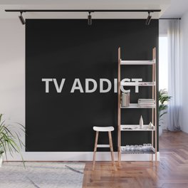 The TV Addict Wall Mural